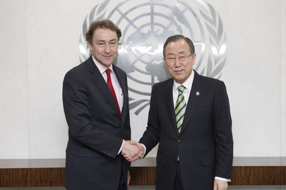 Secretary-General Meets Head of Humanitarian Dialogue Centre