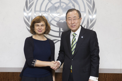 Secretary-General Meets with Representative of Lithuania