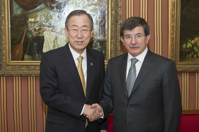 Secretary-General Meets with Turkish Foreign Minister
