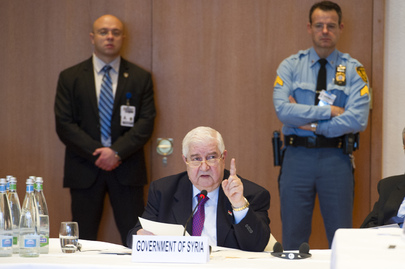 Syrian Foreign Minister Addresses Geneva II Conference