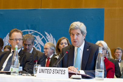 US Secretary of State Addresses Geneva II Peace Conference