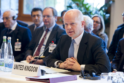UK Foreign Minister Addresses Geneva II Peace Conference