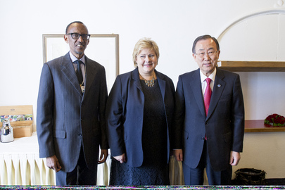Secretary-General's MDG Group Meets at World Economic Forum