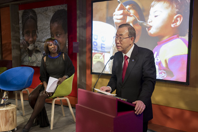 Secretary-General Invites WEF Participants to Sign Zero Hunger Declaration