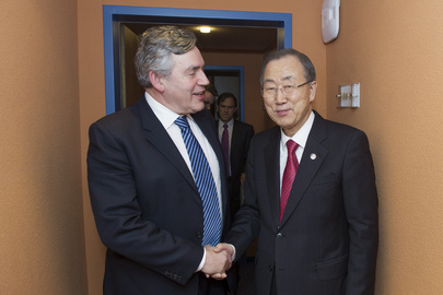 Secretary-General Meets with Special Envoy for Global Education