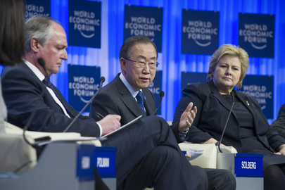 Secretary-General Addresses 2014 World Economic Forum
