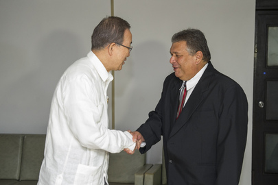 Secretary-General Meets Vice-President of Cuban Council of Ministers