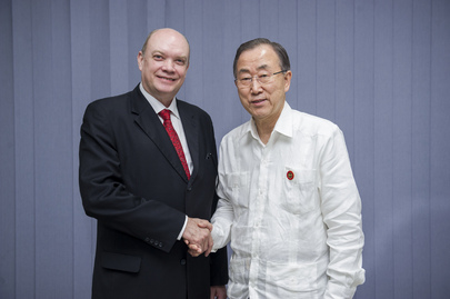 Secretary-General Meets Trade Minister of Cuba