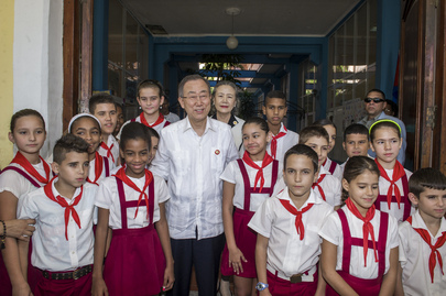 Secretary-General Visits Old Havana