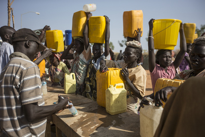 Water Shortage Persists at UNMISS Malakal IDP Camp