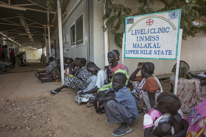UNMISS Malakal Base Hosts Thousands of Diplaced Residents