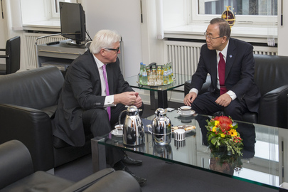 Secretary-General Meets Foreign Minister of Germany