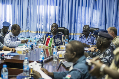 UNMISS Police Chief Meets South Sudan Counterpart