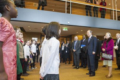 Secretary-General Arrives in Bonn