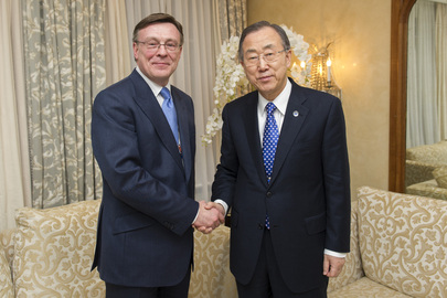 Secretary-General Meets Foreign Minister of Ukraine