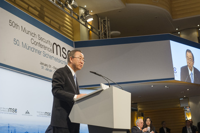 Secretary-General Addresses Munich Security Conference