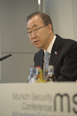 Secretary-General Addresses Press Conference in Munich
