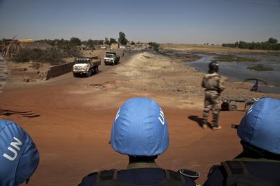 Scene from Mopti, Mali