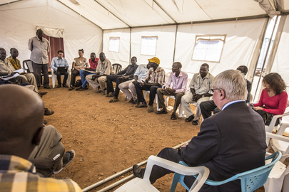 UN Peacekeeping Chief Meets IDPs in Juba, South Sudan