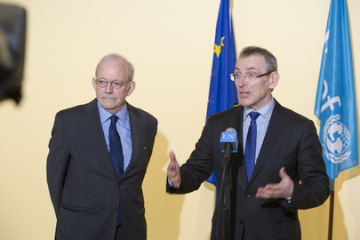 EU Commissioner and UNICEF Head Brief on CAR, Child-related MDGs