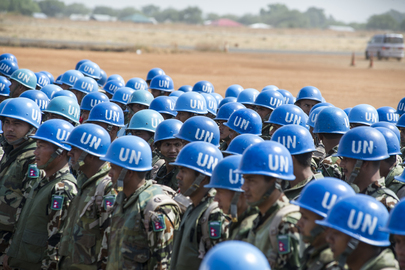 Contingent of Nepalese Peacekeepers Arrives in Juba from Haiti