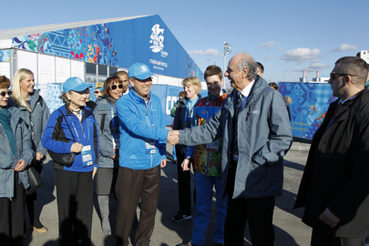 Secretary-General Visits Sochi Olympic Village