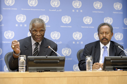 Press Conference on Illicit Financial Flows from Africa
