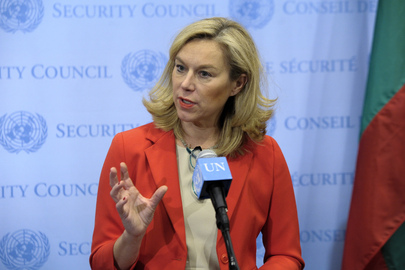 Special Coordinator of OPCW-UN Joint Mission Briefs Media