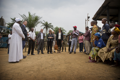 UK Minister for Africa Visits DRC