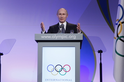 Russian President at Dinner Hosted by IOC President