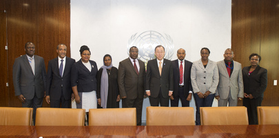 Secretary-General Meets Kenyan Parliamentarians