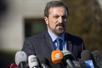 Syrian Opposition Spokesperson Speaks to Press