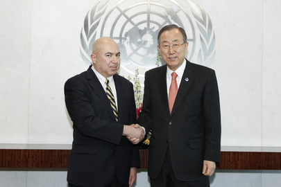 Secretary-General Meets Head of UN Pension Fund