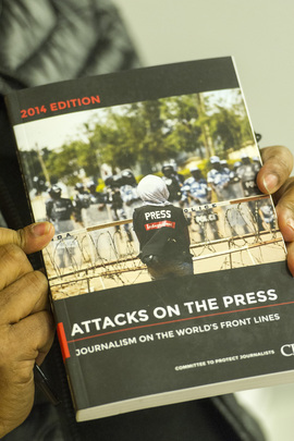 "CPJ Presents Annual Report ""Attacks on the Press"""