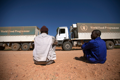 WFP Delivers Food to North Darfur IDP Camps