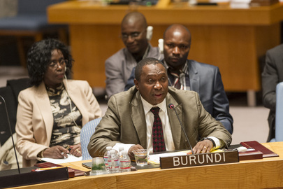Council Considers Situation in Burundi
