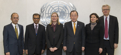 Secretary-General Meets Migration Forum Troika