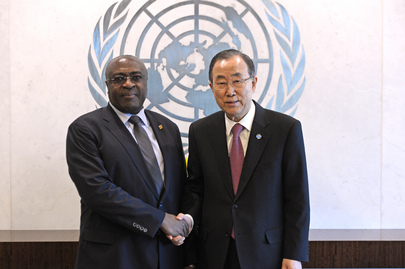 Secretary-General Meets Permanent Representative of Uganda