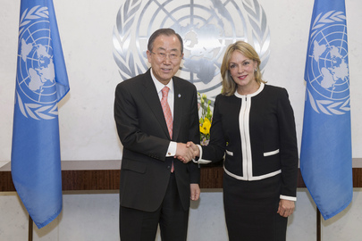 Secretary-General Meets New Permanent Representative of Colombia