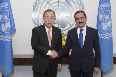 Secretary-General Meets New Permanent Representative of Tajikistan