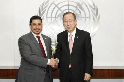 Secretary-General Meets Special Envoy of President of Yemen