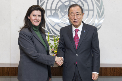 Secretary-General Meets Incoming Security Council President