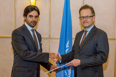 Permanent Representative of Qatar to UNOG Presents Credentials