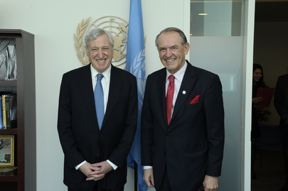 Deputy Secretary-General Meets Head of European External Action Service