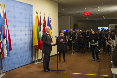 UK Permanent Representative of Briefs Press on Ukraine