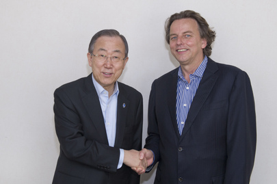 Secretary-General Meets His Special Representative for Mali