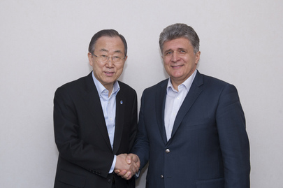 Secretary-General Meets Head of UN's Central Asia Centre for Preventive Diplomacy