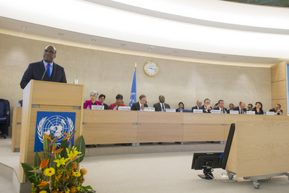 Opening of Human Rights Council 25th Session