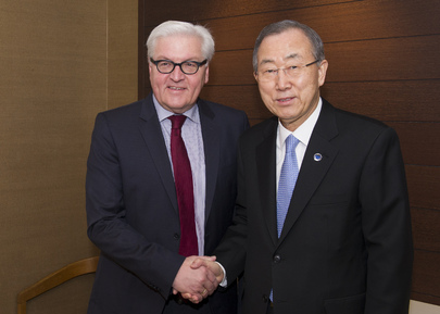 Secretary-General Meets Foreign Minister of Germany in Geneva