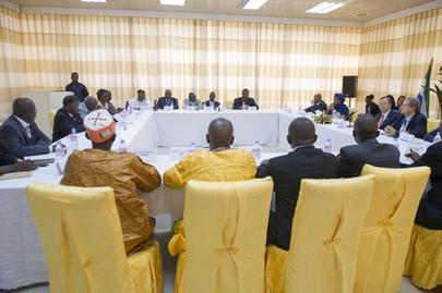 Secretary-General Meets Representatives of Main Political Parties of Sierra Leone
